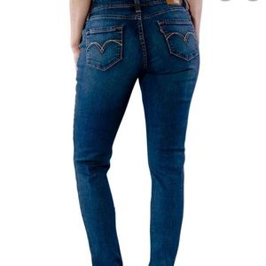 Levi's bold curve classic rise straight leg jeans